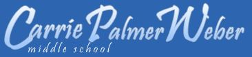 carrie palmer weber middle school logo